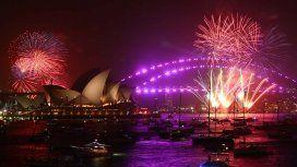 Así se recibió el Año Nuevo en varias partes del mundo