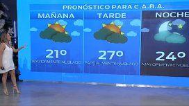Pronóstico del tiempo del 1º de enero de 2020