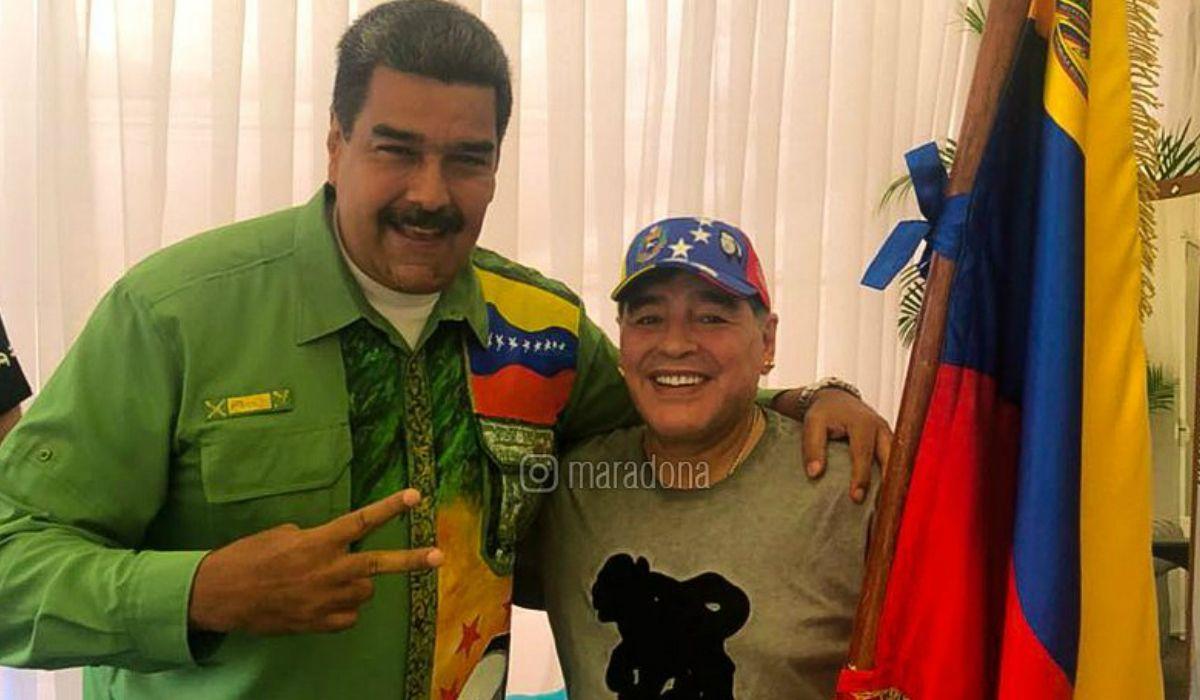 Diego Maradona, candidato a dirigir  la selección de Venezuela