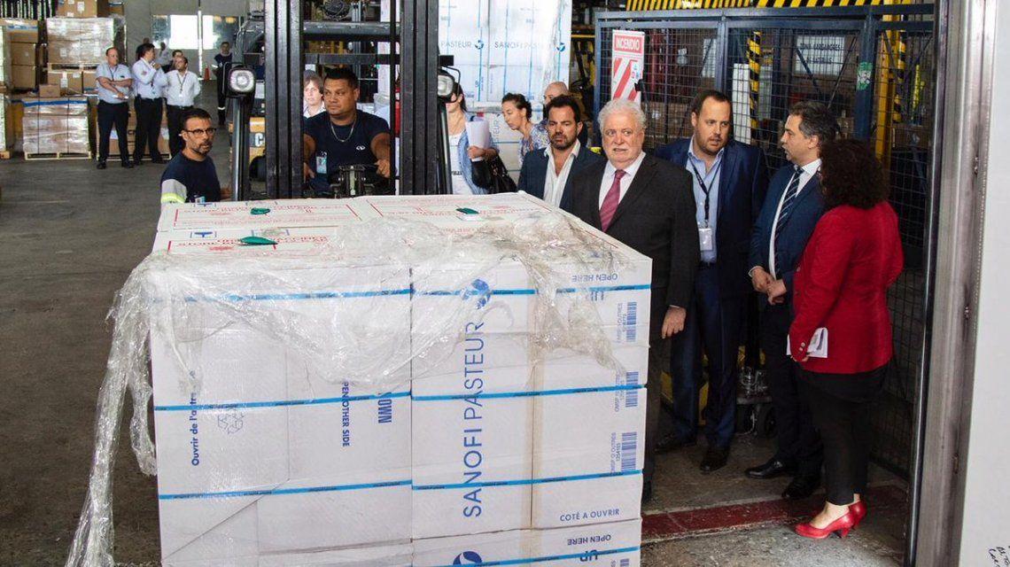 El Gobierno liberó más de 12 millones de vacunas que estaban en la Aduana desde junio