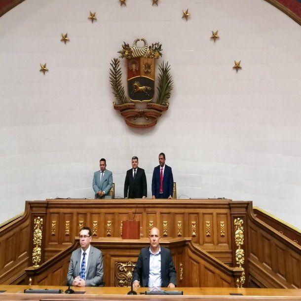 Luis Parra, nuevo presidente de la Asamblea Nacional de Venezuela - Crédito: @LuisEParra78