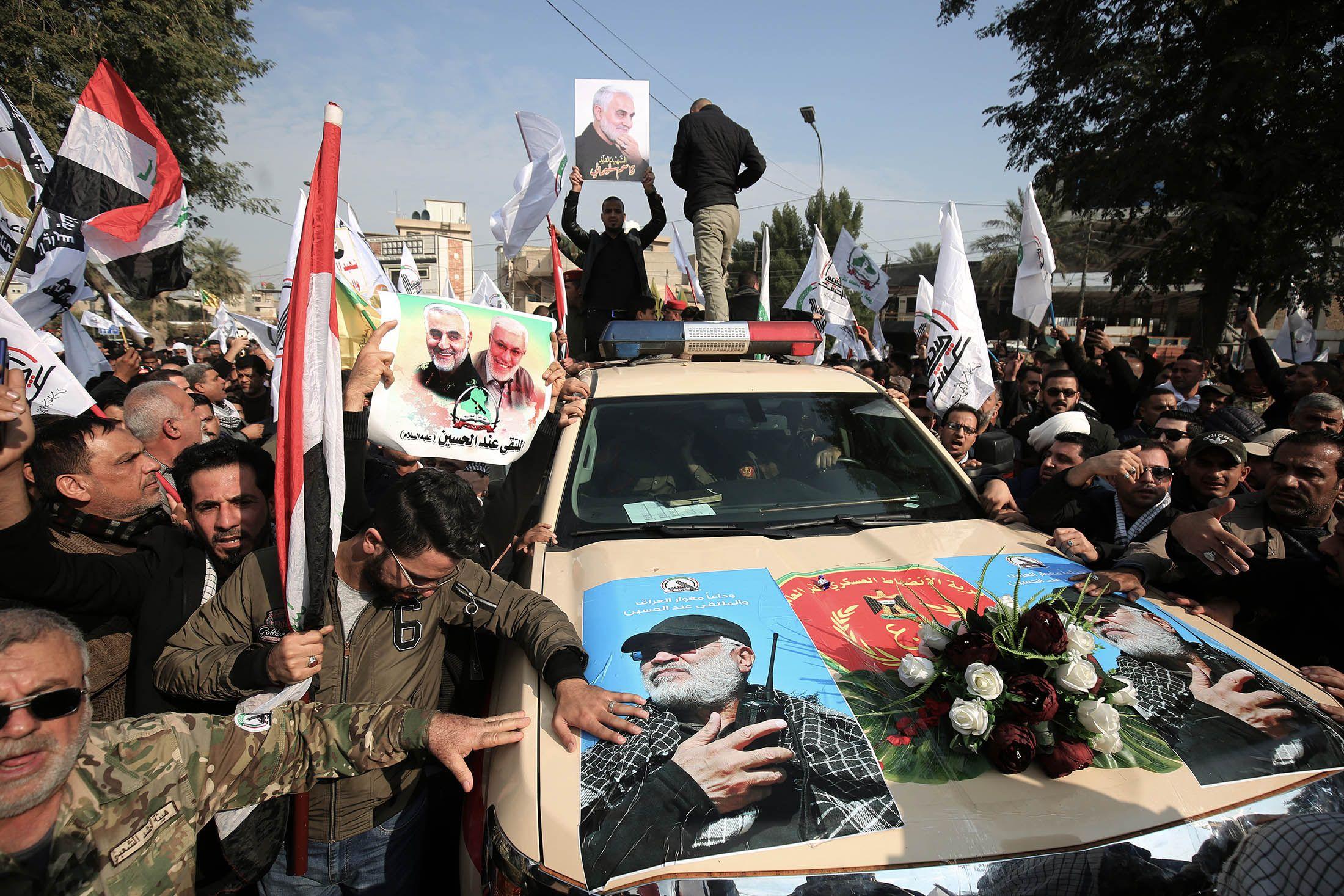 El grupo terrorista Hamás prometió vengar la muerte de Soleimani