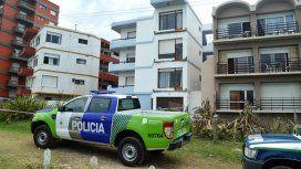 Se derrumbaron tres balcones en Villa Gesell. Foto: Info Cielo