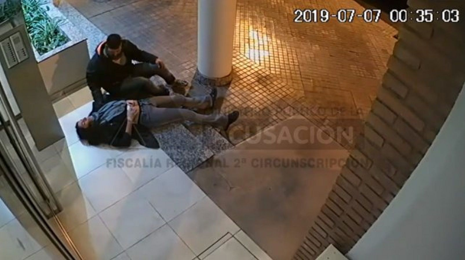 Detuvieron al autor del ataque sexual de la médica tras la difusión del video