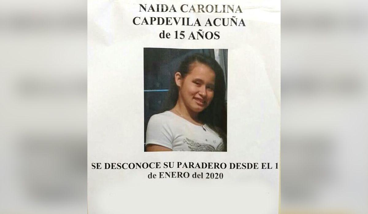 Buscan a Naida, una adolescente que desapareció el 1º de enero en Almagro