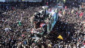 Funeral de Qassem Soleimani. Ftoto: The Guardian