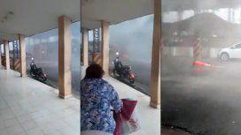 VIDEO: Impresionante temporal causó destrozos en Clorinda