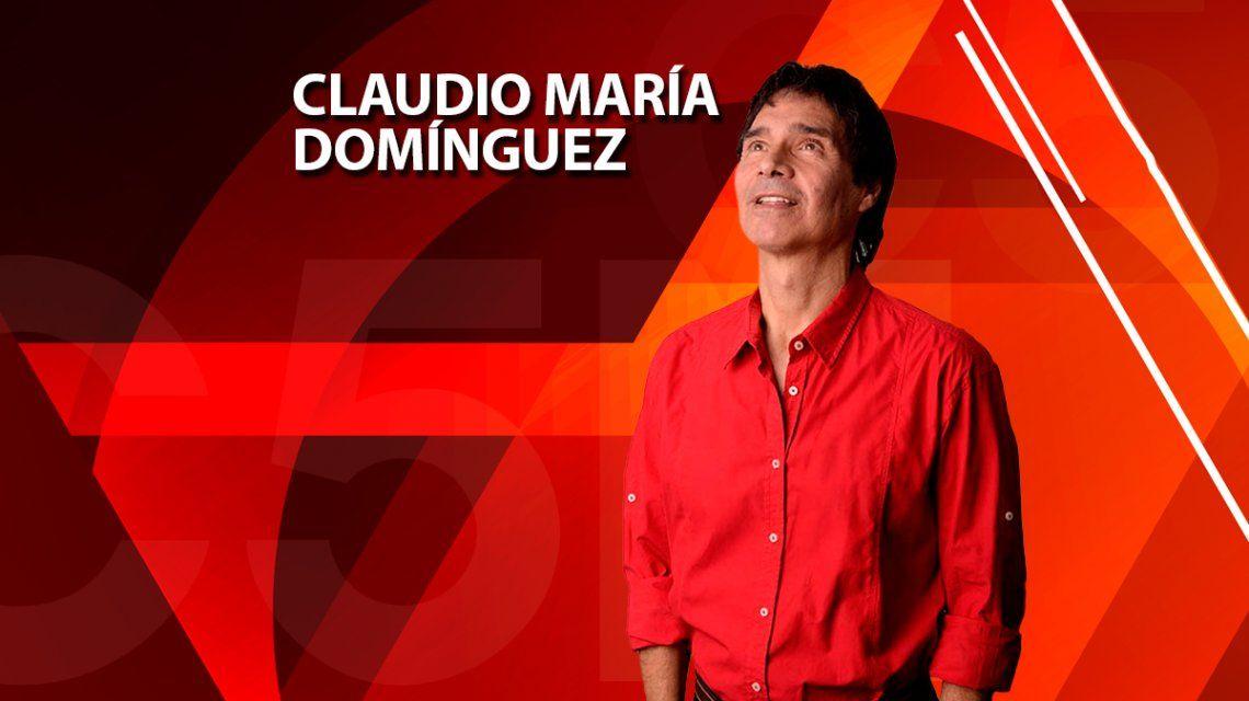 Claudio María Domínguez te invita a dejar de ver al otro como un enemigo
