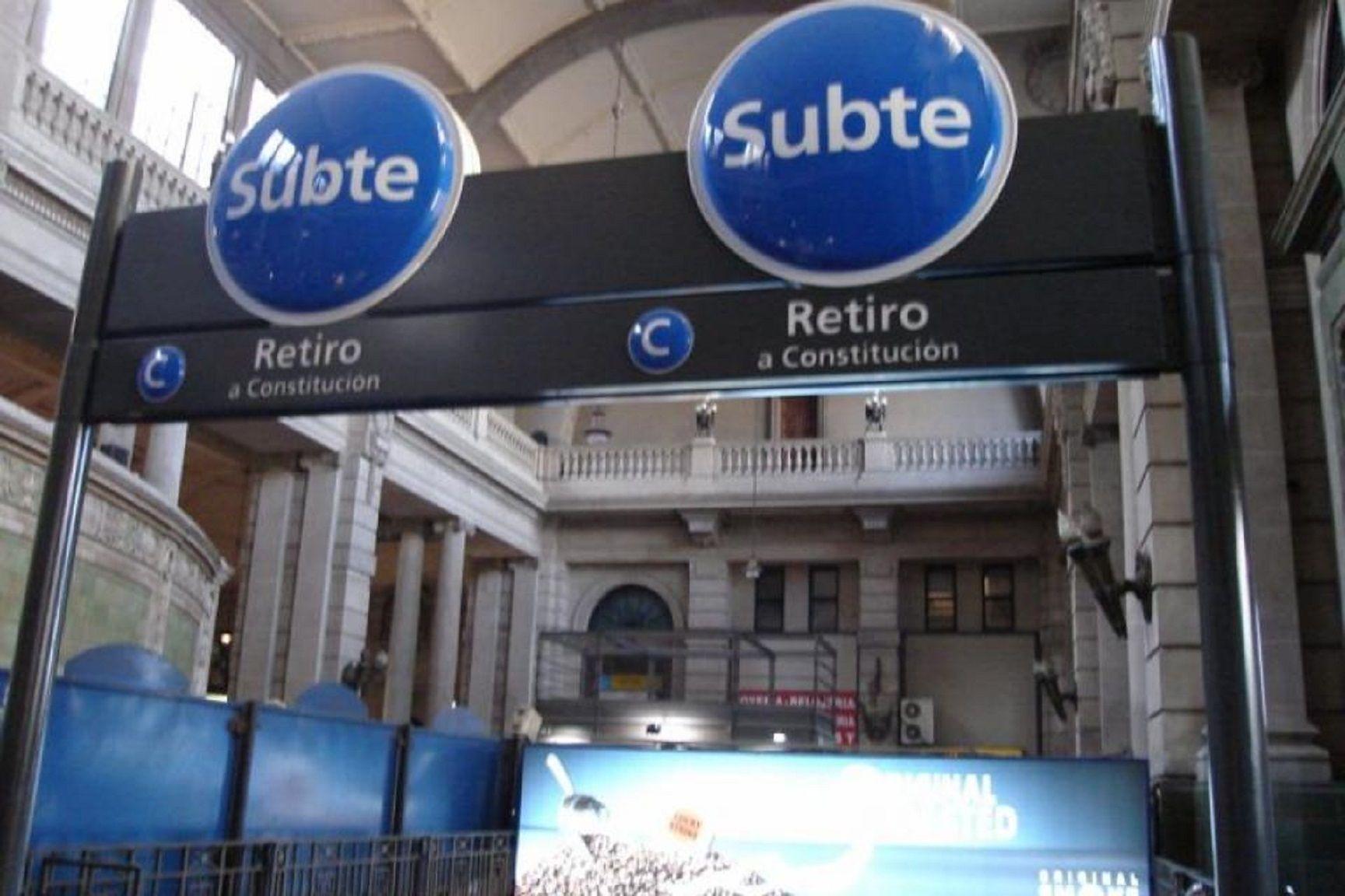 Este sábado deja de funcionar la Línea C de Subte: qué alternativas hay