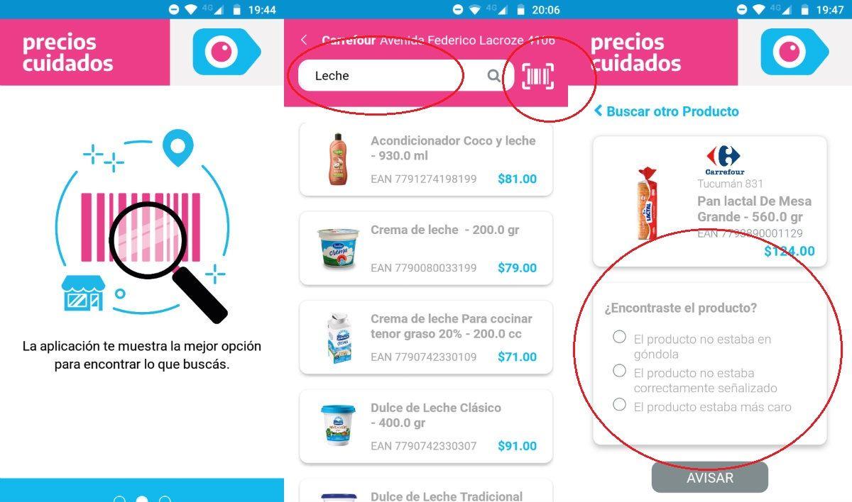 ¿Cómo es la app de Precios Cuidados con la que el gobierno quiere llegar al consumidor?