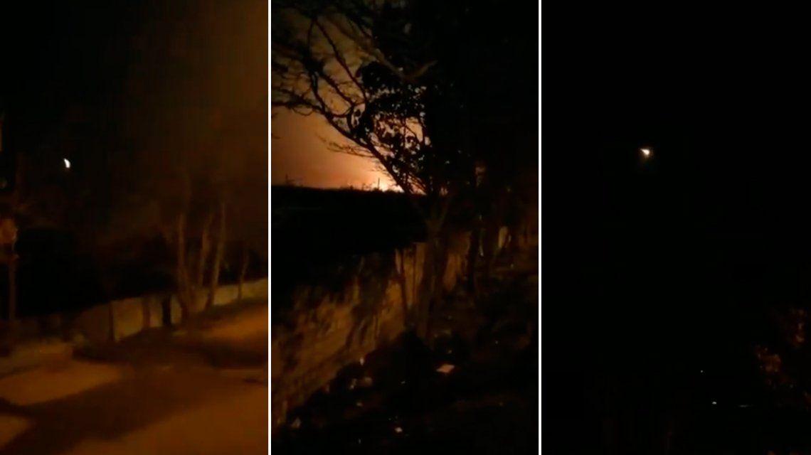 VIDEO: El momento del accidente del avión ucraniano en Irán