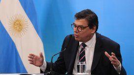 Claudio Moroni, ministro de  Trabajo, Empleo y Seguridad Social