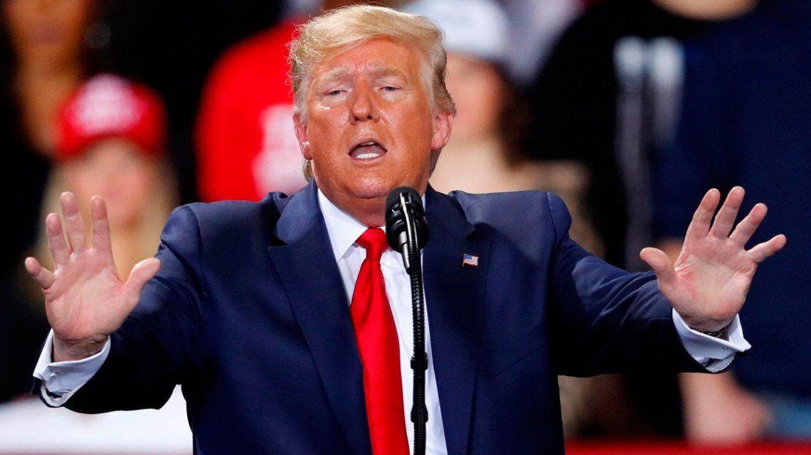 El Senado de Estados Unidos absolvió a Donald Trump del juicio político
