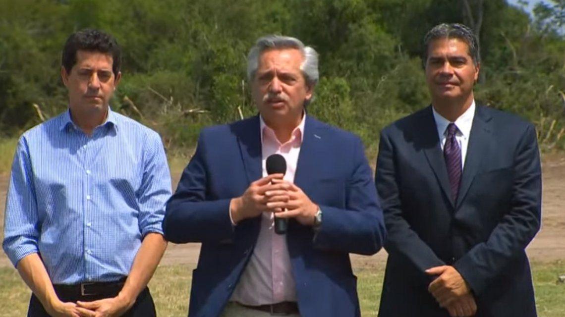 Alberto Fernández en Chaco: Hemos llegado para ser la voz de los que no tienen voz