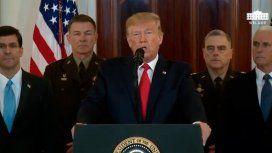 Trump al pueblo iraní: He estado con ustedes desde el comienzo de mi presidencia