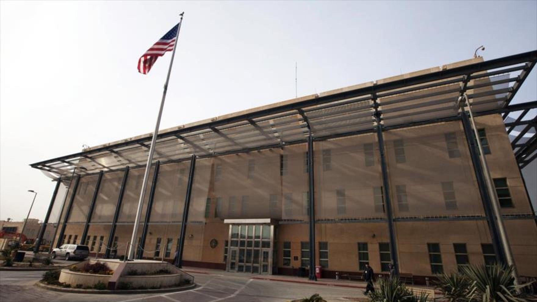 Dos cohetes impactaron en la zona verde de Bagdad donde está la embajada de EE.UU.