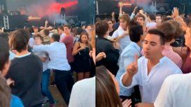 VIDEO: Fue a una fiesta a Punta del Este y le rompieron la mandíbula de una piña
