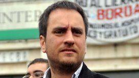 Juan Cabandié, ministro de Ambiente y Desarrollo Sostenible.