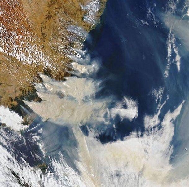 Incendios en Australia - Crédito: NASA