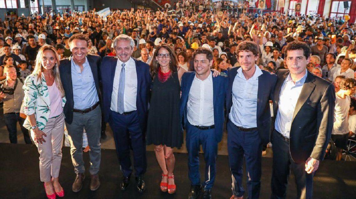 Alberto Fernández anunció la capacitación durante un acto en San Fernando
