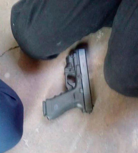 Esta es el arma utilizada por el agresor