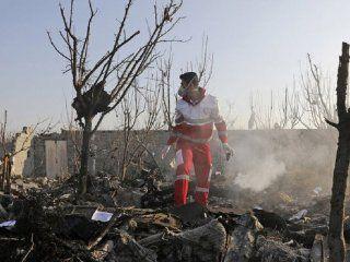 ucrania accedio a la caja negra del avion que se estrello en teheran