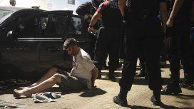 Detuvieron a un hombre que arrojó una bomba molotov