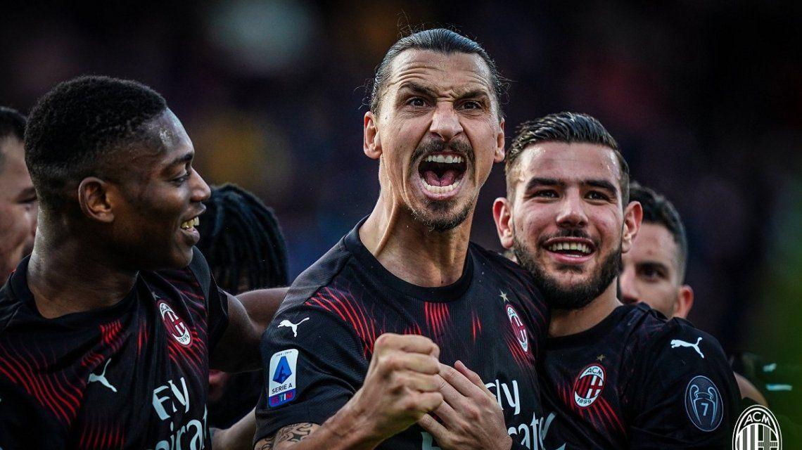 Siempre Zlatan: volvió al Milan con un gol