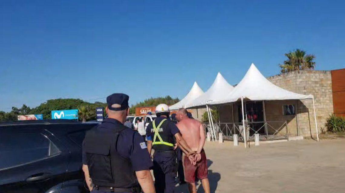 Un herido de gravedad y tres detenidos en Punta del Este