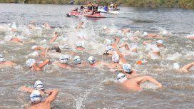 Necochea: buscan a un nadador que se perdió en una competencia en el mar