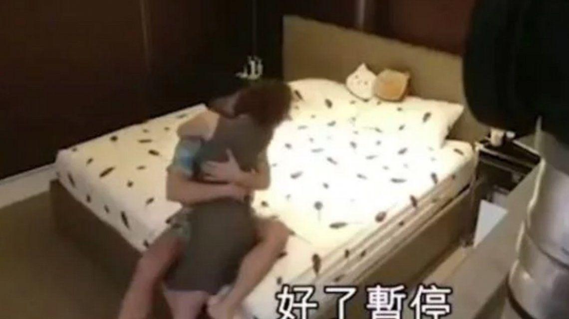 Un hombre grabó a su novia siéndole infiel con su cuñado y puso el video el día de la boda