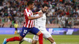 Real Madrid venció al Atlético por penales y es el campeón de la Supercopa de España