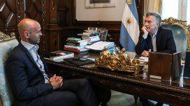 Guillermo Dietrich y Mauricio Macri