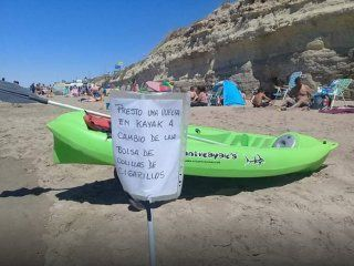 novedosa propuesta en las grutas para limpiar la playa y concientizar sobre la basura