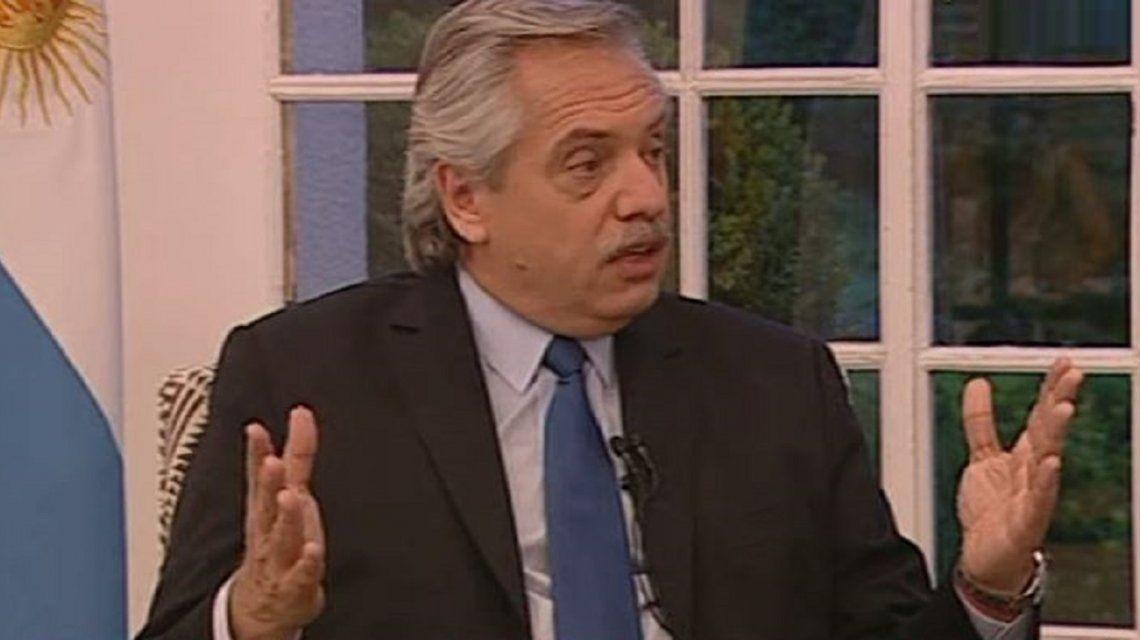 Alberto Fernández en C5N: No hicieron nada de obra pública