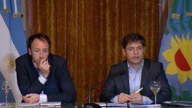 Kicillof: Lo que Vidal dejó es insuficiente para afrontar los vencimientos de deuda