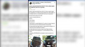 Insólito: le robaron el auto y lo recuperó porque lo vendían por Facebook