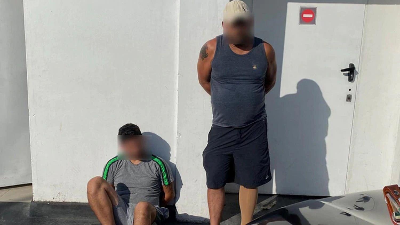 Detenidos por el robo del auto