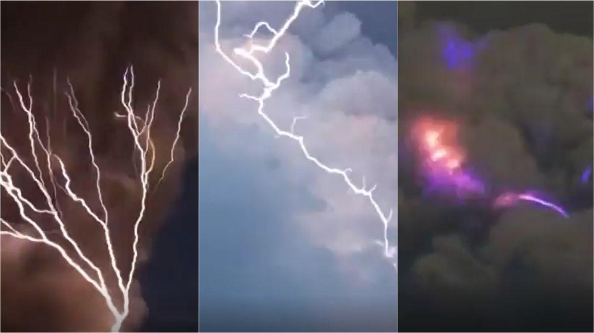 VIDEO: Increíble tormenta con rayos alrededor de las cenizas que arroja el volcán Taal