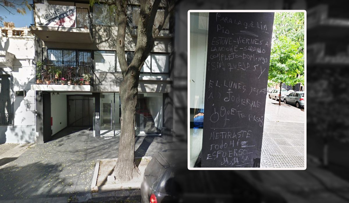 El insólito mensaje que le dejó un linyera a la encargada de un edificio: Me tiraste todo mi esfuerzo