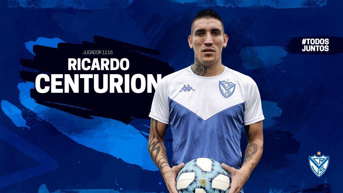 Ricardo Centurión en Vélez