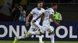 Argentina debutó con una remontada ante Colombia en el Preolímpico