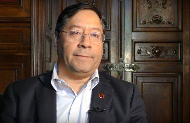 Luis Arce, candidato a presidente por el partido de Evo Morales