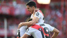 Con dos goles de Borré, River le ganó al Independiente de Pusineri en Avellaneda