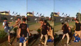 Difunden el video de otra golpiza en manada a un joven en Villa Gesell