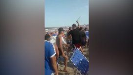 El momento del descontrol (Video Ahora Mar del Plata)