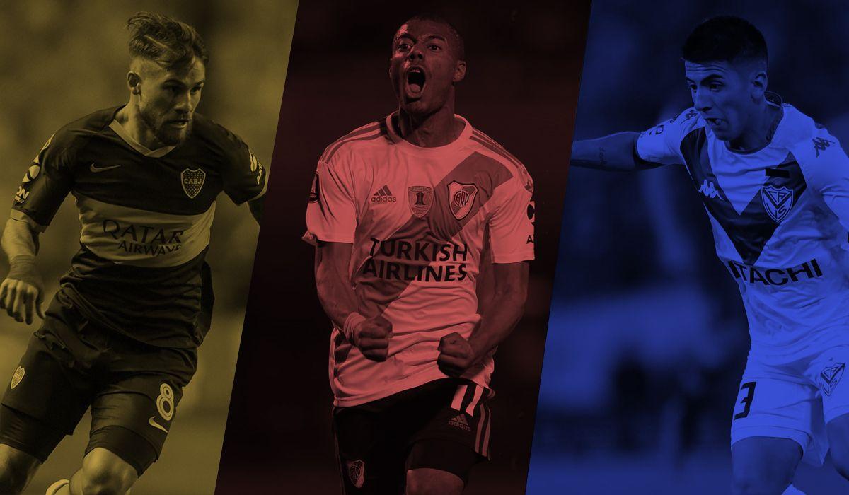Los cinco planteles más caros de la Superliga