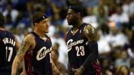 Jugó con LeBron James