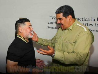 Crédito: Instagram Maradona
