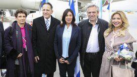 Alberto llegó a Israel para participar del Foro Internacional del Holocausto